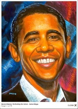 #BarrackObama DetroitPrison Art