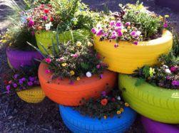 tire-planters