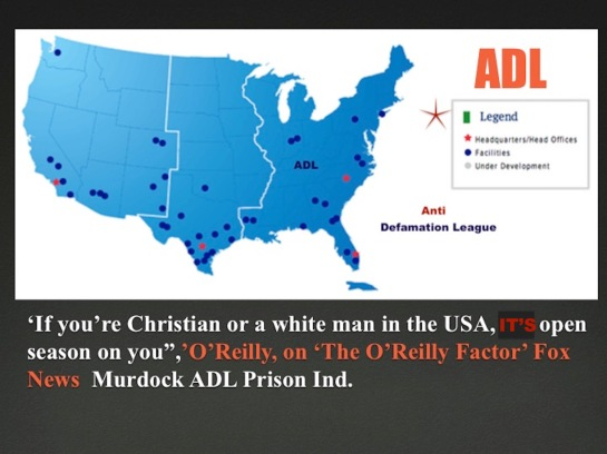 ADL MAP Oreilly on the factor If your a christian