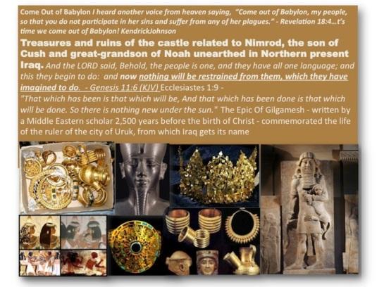 Bush Irael claim Nimod treasures as its own