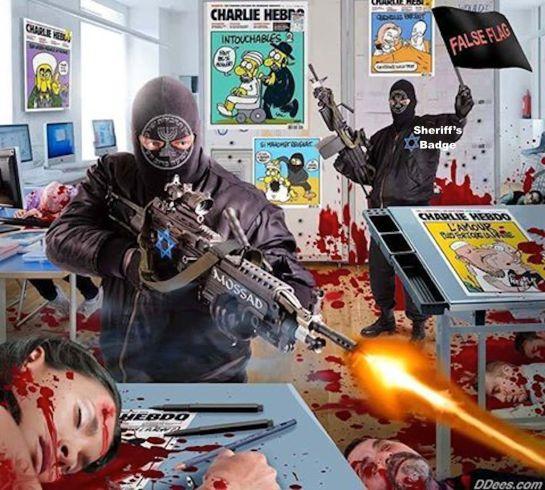 French Immigration police #CharlieHebdo Dieudonné M'bala Propagando