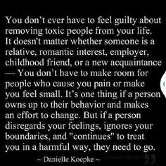 remove toxic people from life quote sayings