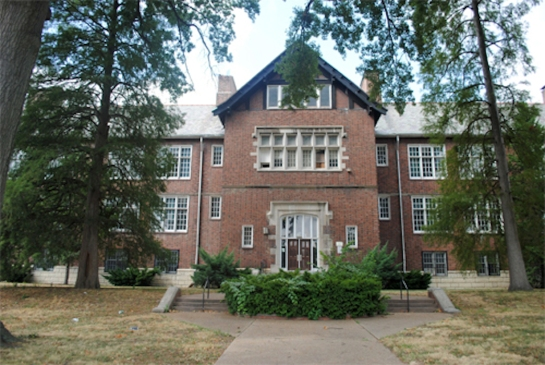 Mchael Brown School of Botany and natural Plants Missouri St. Louis Walnut Park School