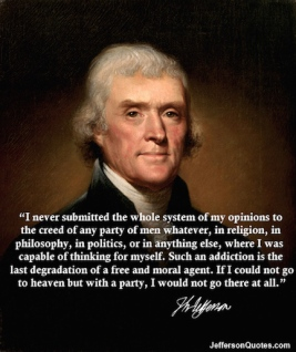 religion state party jefferson