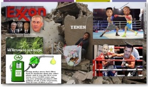 Kim Jong un Netanyahu Asaad trump tillerson exxon putin war